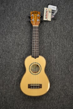 Kala Solid Spruce/Spalted Maple Soprano