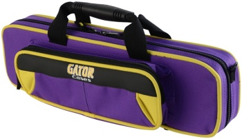 Gator Cases Flute Lightweight Case Yellow/Purple