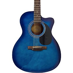 LAUREL CANYON LA-100 Acoustic Guitar Transparent Blue