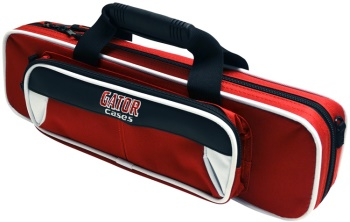 Gator Cases Flute Lightweight Case White/Red