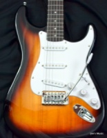 Squier Bullet Strat with Tremolo, Rosewood Fingerboard, Brown Sunburst