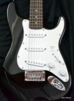 Squier Mini, Rosewood Fingerboard, Black