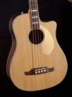 FENDER Kingman  Bass SCE, Natural, Cutaway Electric, Solid Spruce Top, Mahogany Back and Sides, Fis