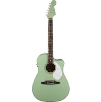 FENDER Sonoran  SCE, Surf Green with Matching Headstock