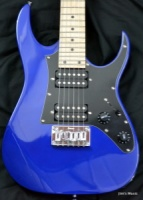 IBANEZ MIKRO Series Electric Guitar Jewel Blue Jewel Blue