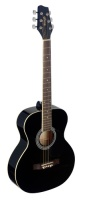 Stagg SA20A Acoustic Guitar Linden Black