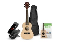 Tanglewood Ukulele Learn to Play Bundle Natural