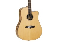 KORG Tanglewood TWJDSCE Dreadnought Cutaway Acoustic Guitar