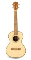 Sun Star Music Solid Top Spruce Concert Uke, Zebra Wood Back and Sides