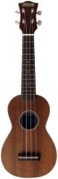 AMAHI Soprano Mahogany Uke with White Binding