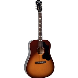 Recording King Dirty 30's Series 7 Dreadnought Guitar Tobacco Sunburst